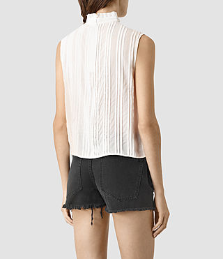 Mujer Lolita Top (Chalk White) - product_image_alt_text_3