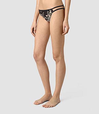 Mujer Cassia Heron Bikini Bottom (SLATE BLUE) - product_image_alt_text_3