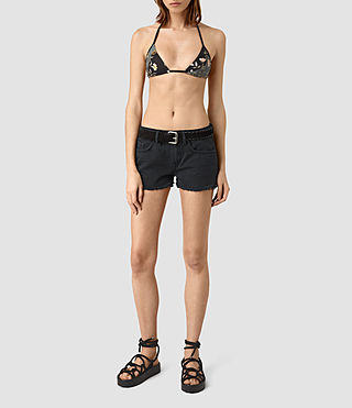 Damen Cassia Heron Bikini Top (SLATE BLUE) -