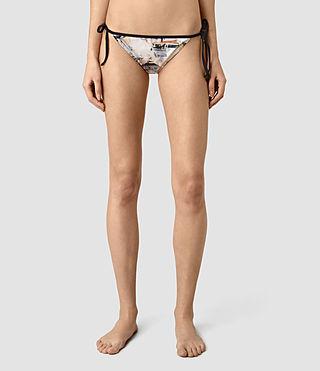 Mujer Ty Dash Bikini Bottom (Chalk White) - product_image_alt_text_2