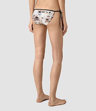 Mujer Ty Dash Bikini Bottom (Chalk White) - product_image_alt_text_4