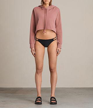 Femmes Cassia Bikini Bottom (Black)