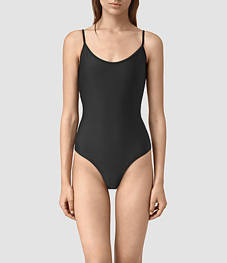 Damen Bea Swimsuit (Black) - product_image_alt_text_2