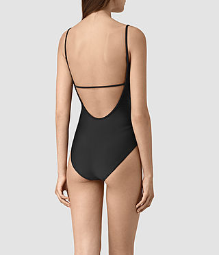 Damen Bea Swimsuit (Black) - product_image_alt_text_4