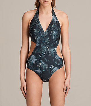 Mujer Aurie Neluwa Swimsuit (Black) - product_image_alt_text_1