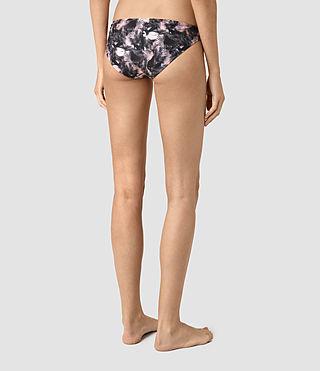 Femmes Ola Island Bikini Bottom (DARK PINK) - product_image_alt_text_4