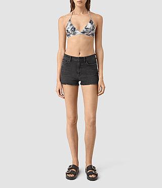 Damen Soma Island Bikini Top (ASH PINK) -