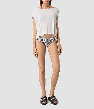 Damen Soma Island Bikini Bottom (ASH PINK)