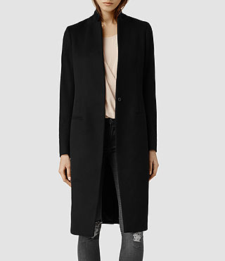 Womens Eryn Coat (Black)