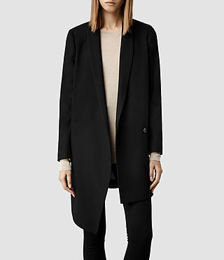 Womens Aiva Coat (Black)