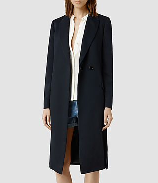 Womens Vice Split Coat (Ink)