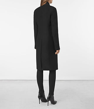Mujer Nehru Coat (Black) - product_image_alt_text_4