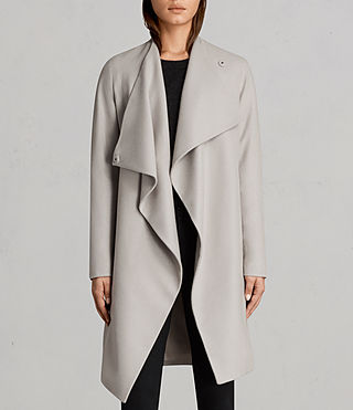 Femmes Manteau Ora (Pebble Grey) - Image 5