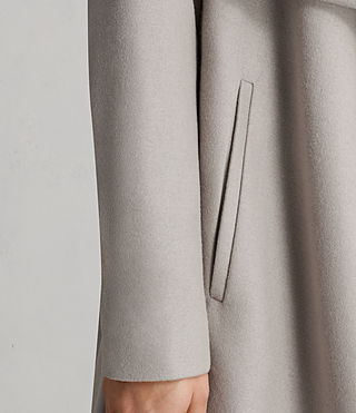 Womens Ora Coat (Pebble Grey) - product_image_alt_text_6