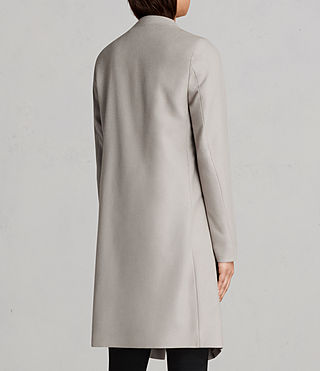 Womens Ora Coat (Pebble Grey) - product_image_alt_text_7
