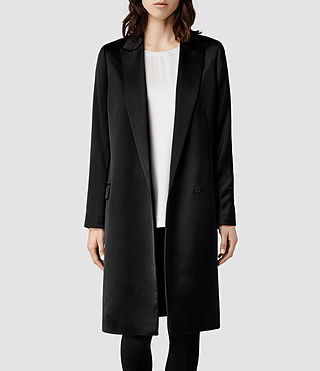 Womens Anouk Coat (Black)