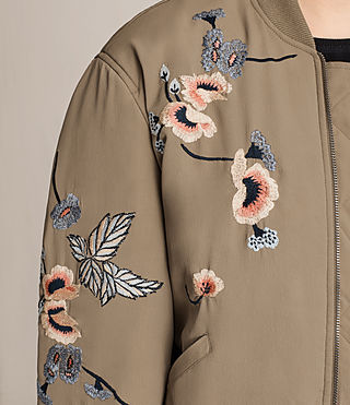 Donne Bomber Margot (LightkhakiGreen) - product_image_alt_text_2