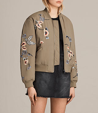 Donne Bomber Margot (LightkhakiGreen) - product_image_alt_text_3