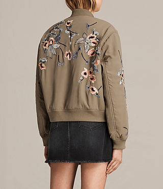 Donne Bomber Margot (LightkhakiGreen) - product_image_alt_text_4