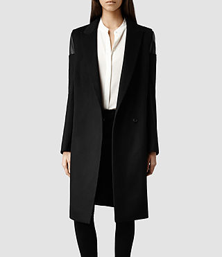 Womens Kori Coat (Black)