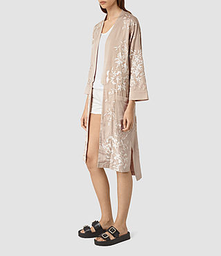 Women's Amarey Embroidered Kimono (Vintage Pink) - product_image_alt_text_3