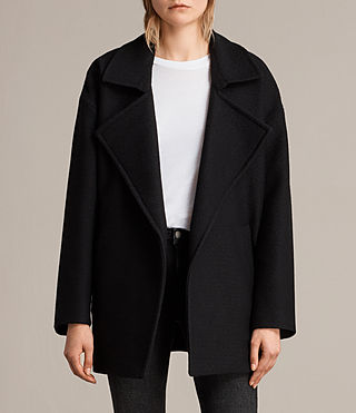 Womens Jaida Coat (Black)