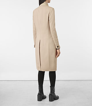 Womens Odile Coat (SAND BROWN) - product_image_alt_text_5