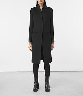 Womens Odile Coat (Black)