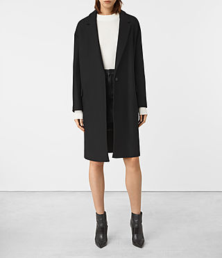 Donne Sancia Nesi Coat (Black)