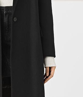 Damen Sancia Nesi Coat (Black) - product_image_alt_text_3
