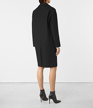 Damen Sancia Nesi Coat (Black) - product_image_alt_text_5