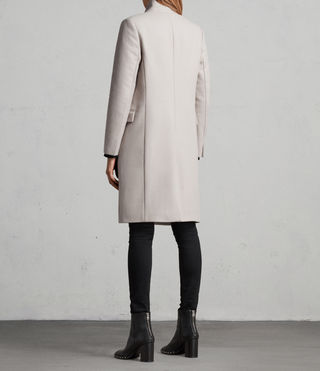 Womens Evelyn Coat (MOTH GREY) - Image 7