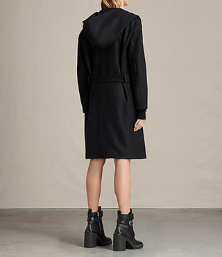 Women's Scala Coat (Black) - product_image_alt_text_7