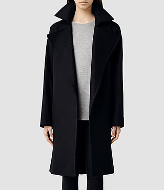 Womens Miya Coat (Ink)