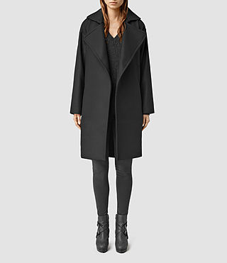 Womens Miya Coat (Black)