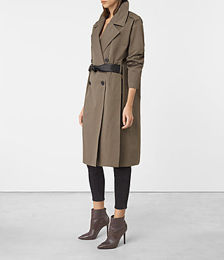 Women's Marlo Mac (Khaki Green) - product_image_alt_text_2