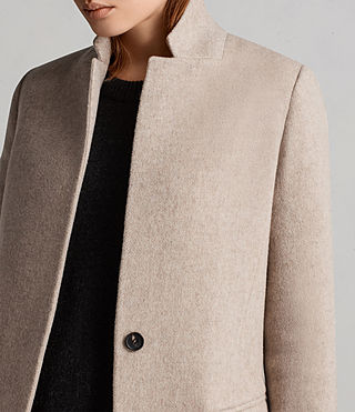 Donne Cappotto Evelyn Comet (OATMEAL BROWN) - Image 2