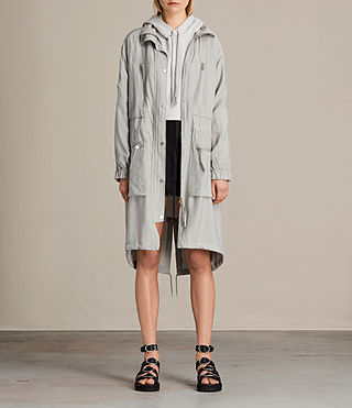 Womens Agnes Parka (Ice Blue)