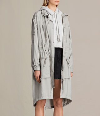 Mujer Agnes Parka (Ice Blue) - product_image_alt_text_4
