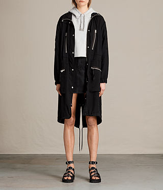 Women's Agnes Parka (Black)
