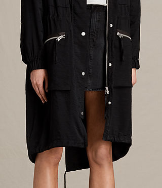 Mujer Agnes Parka (Black) - product_image_alt_text_4