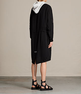 Mujer Agnes Parka (Black) - product_image_alt_text_6