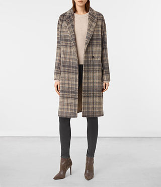 Womens Atticus Rena Coat (OAT CHECK)