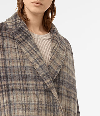 Mujer Atticus Rena Coat (OAT CHECK) - product_image_alt_text_2