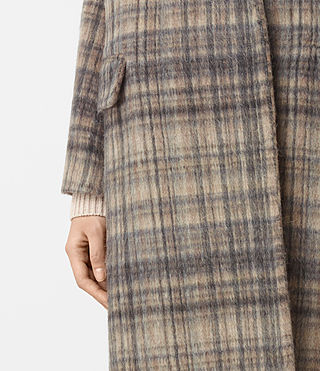 Mujer Atticus Rena Coat (OAT CHECK) - product_image_alt_text_3