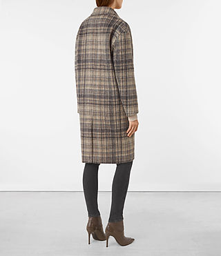Mujer Atticus Rena Coat (OAT CHECK) - product_image_alt_text_6