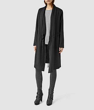 Womens Mali Coat (Black)