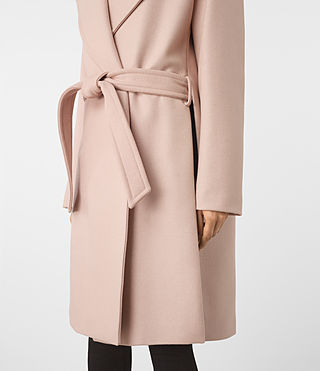 Mujer Indira Nesi Coat (Dusty Pink) - product_image_alt_text_5