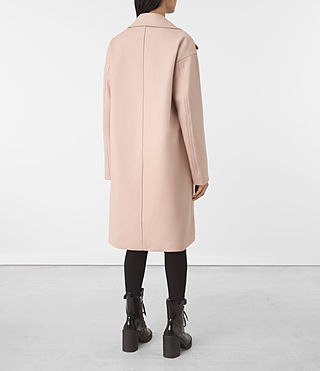 Damen Indira Nesi Coat (Dusty Pink) - product_image_alt_text_6