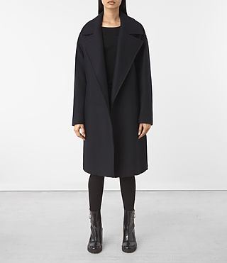 Women's Indira Nesi Coat (Ink Blue)